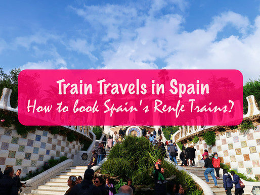 Train Travels in Spain: How to book Spain's Renfe trains?