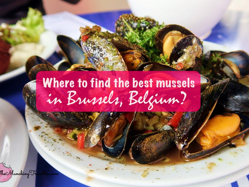 Where to go for the best mussels in Brussels, Belgium?