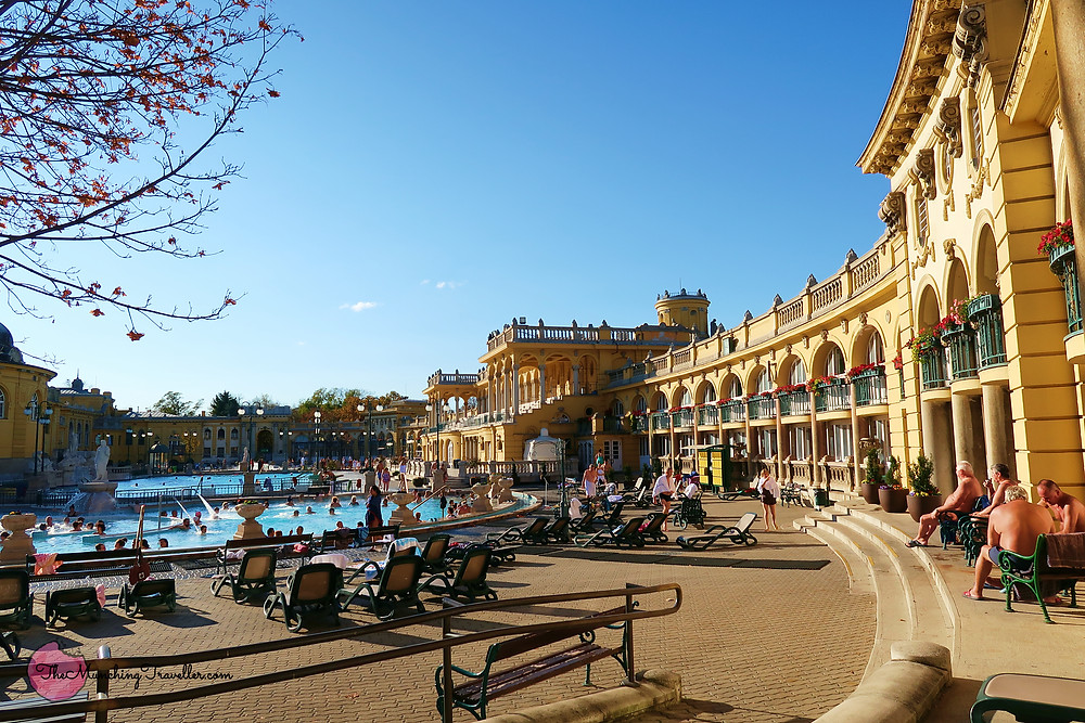Szechenyi Thermal Bath in Budapest, Hungary