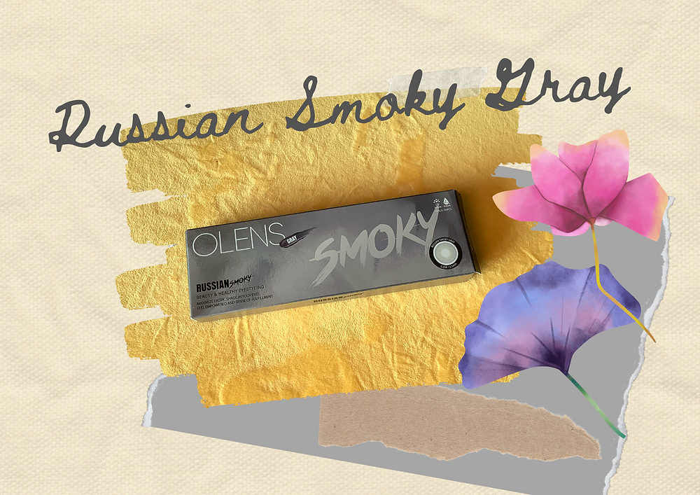 Olens Russian Smoky Collection coloured contact lens