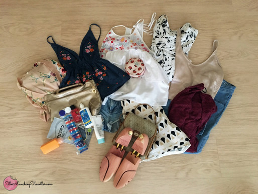 Battling the heatwave: Summer Packing List