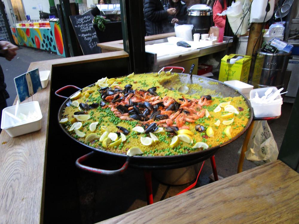 Paella @ Borough Market