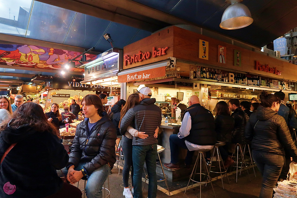 What to eat in La Boqueria Market Barcelona?