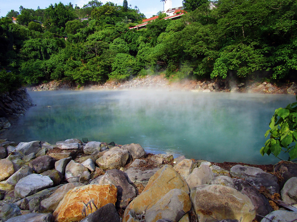 Taipei Beitou Hot Springs, Thermal Valley, Xinbeitou, Taiwan