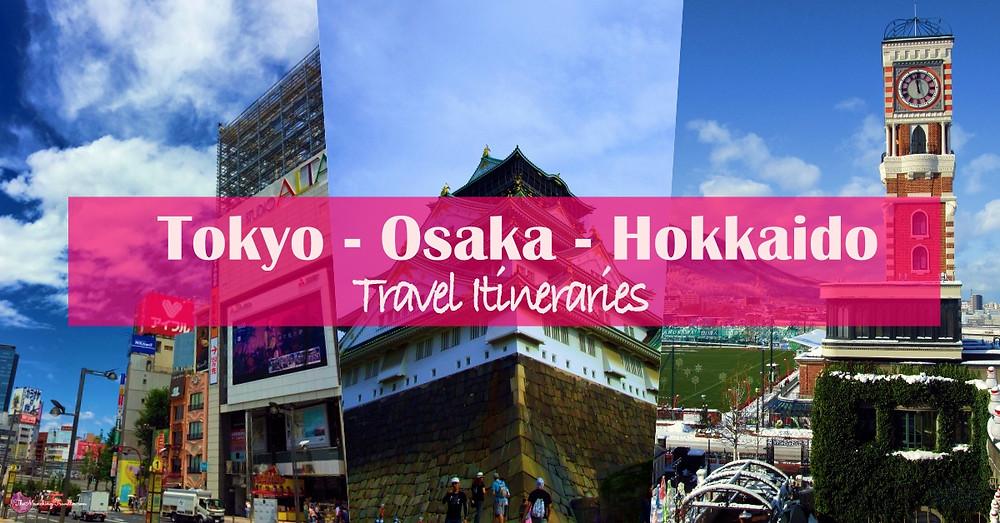 Tokyo, Osaka, Hokkaido Travel Itinerary