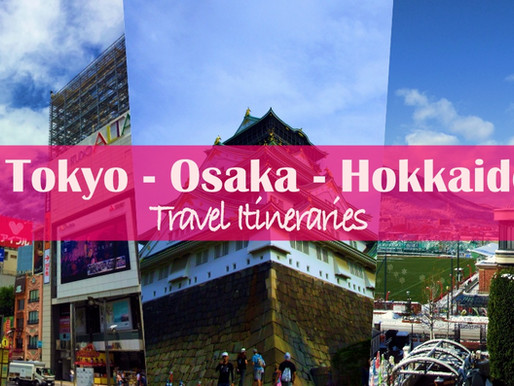 Planning your trip to Japan: Tokyo, Osaka, Sapporo Itinerary