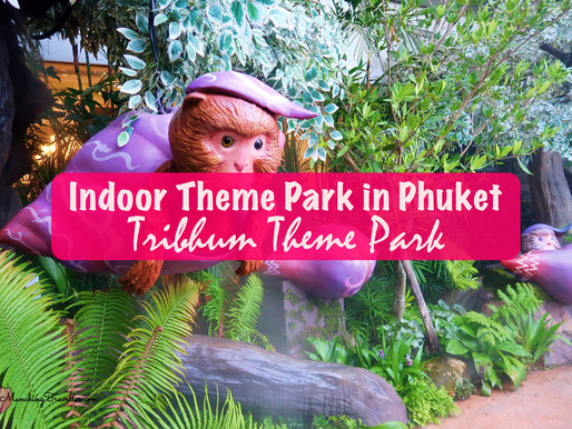 Tribhum Theme Park (The Mystical Three Worlds) in Central Festival Phuket, Thailand