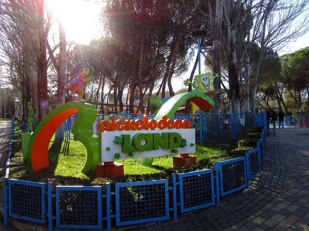 Nickelodeon Land for the younger ones