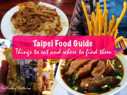 Taipei Food Guide: things to eat and where to find them!