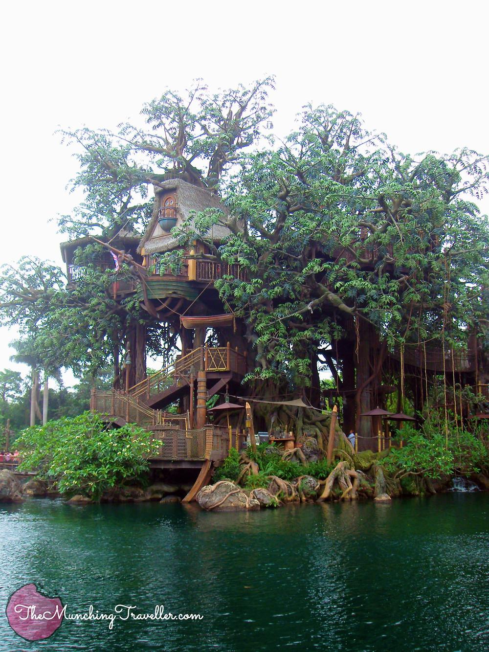 Hong Kong Disneyland Tarzan's Treehouse