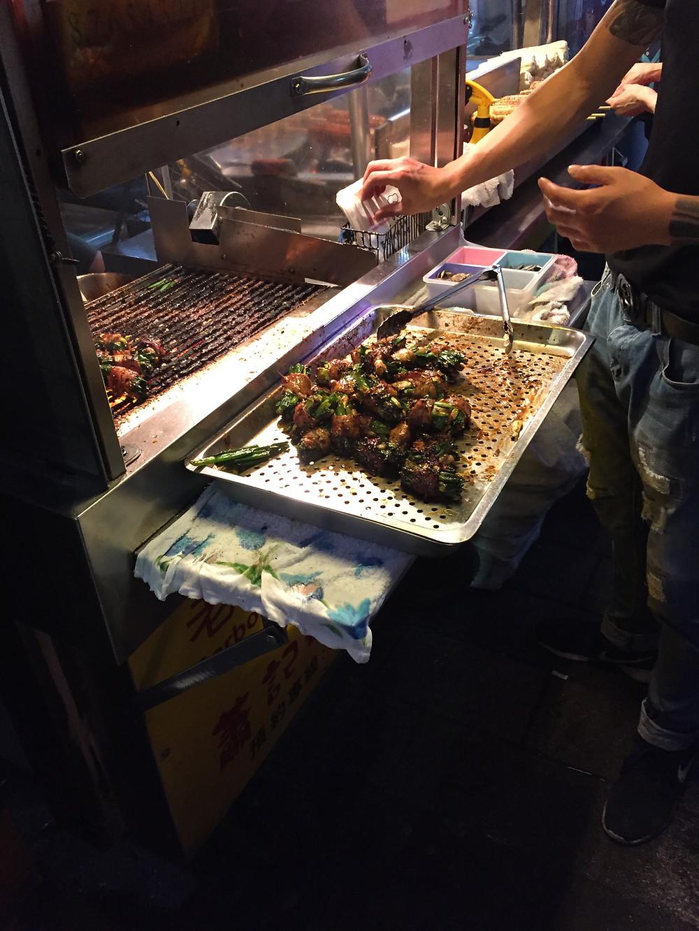 Street Food, Shilin Night Market, Taipei, Taiwan