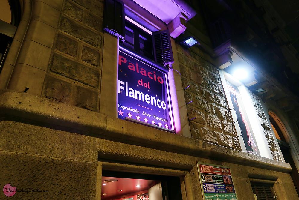 Palacio del Flamenco, where to watch flamenco shows in Barcelona, Spain