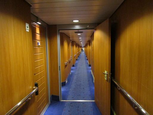On board Stenaline! (Cambridge to Amsterdam)