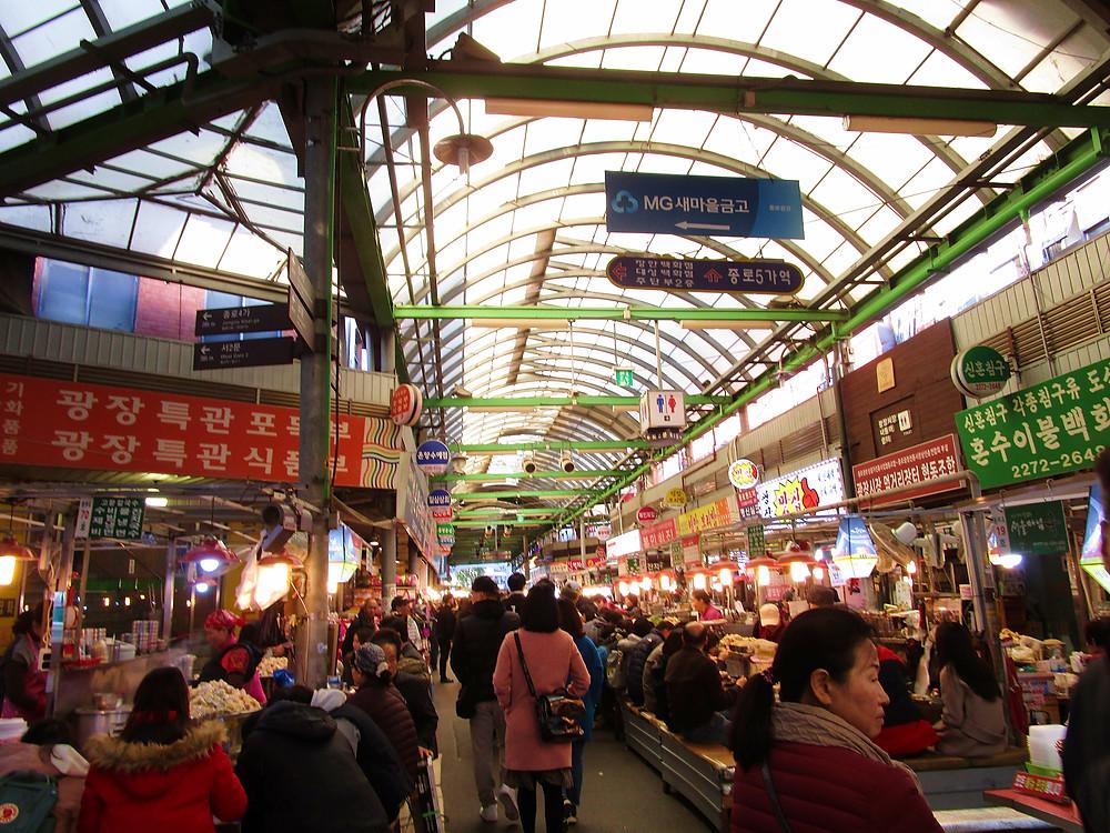 Gwangjang Traditional Market