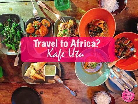 Kafe Utu, Travel to Africa in Singapore