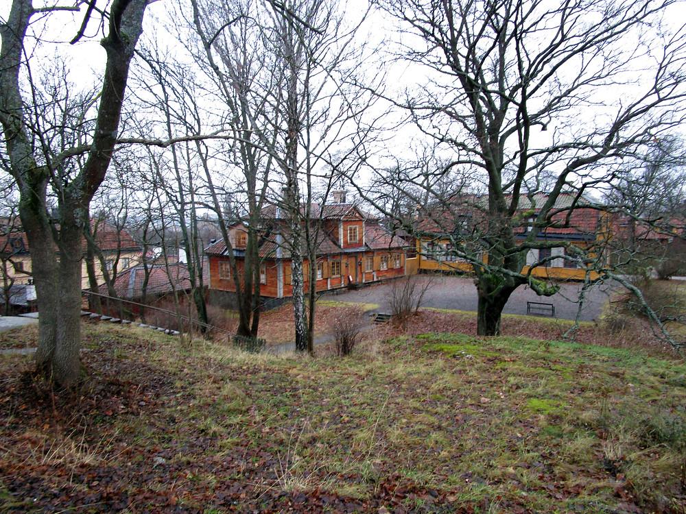 Houses in Skansen