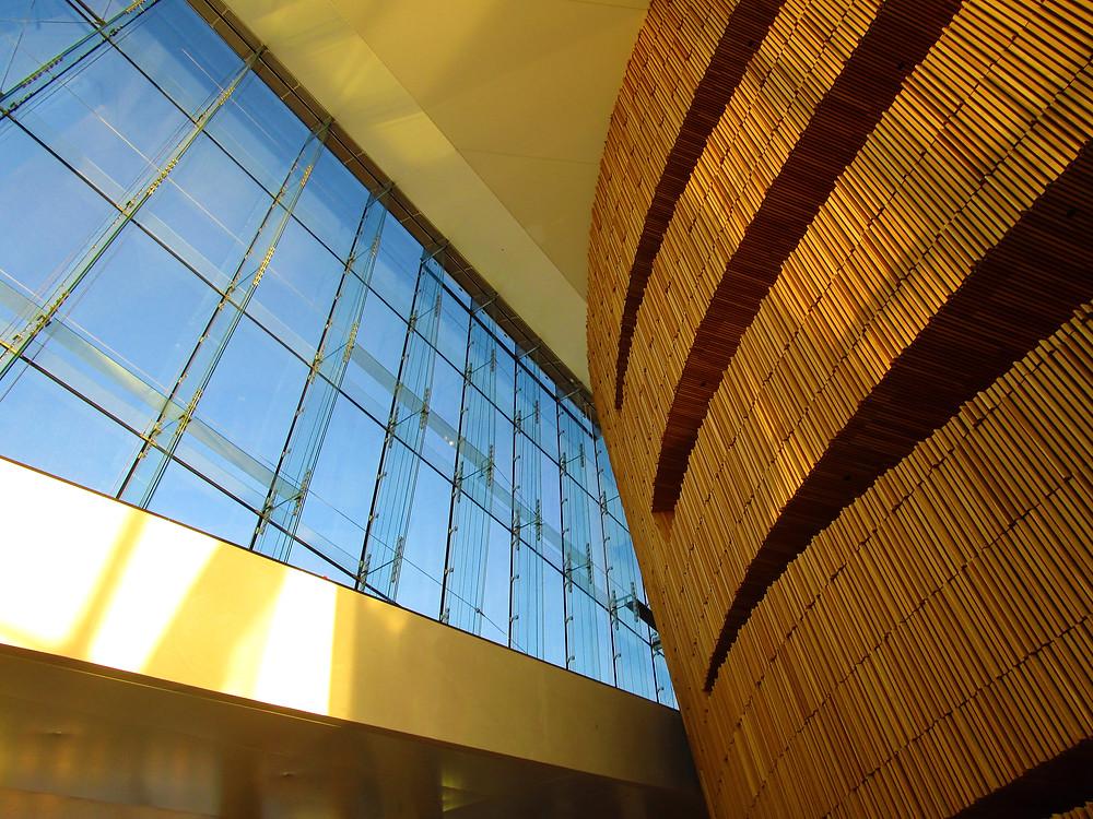 Interior of Oslo Opera House