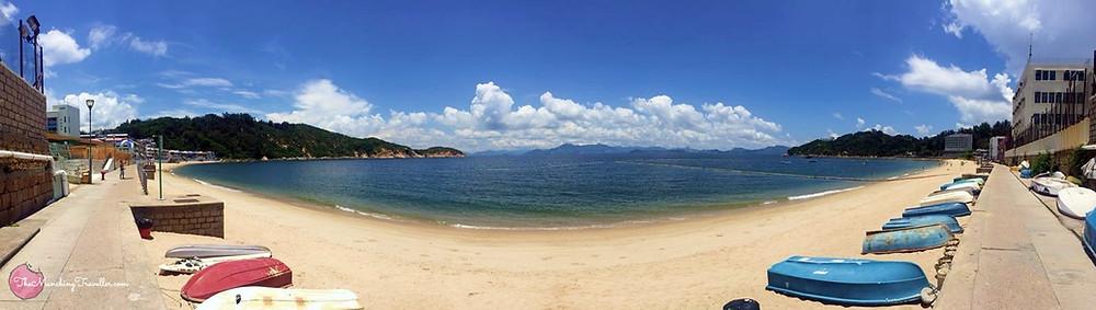 Tung Wan Beach, Cheng Chau Island, Hong Kong