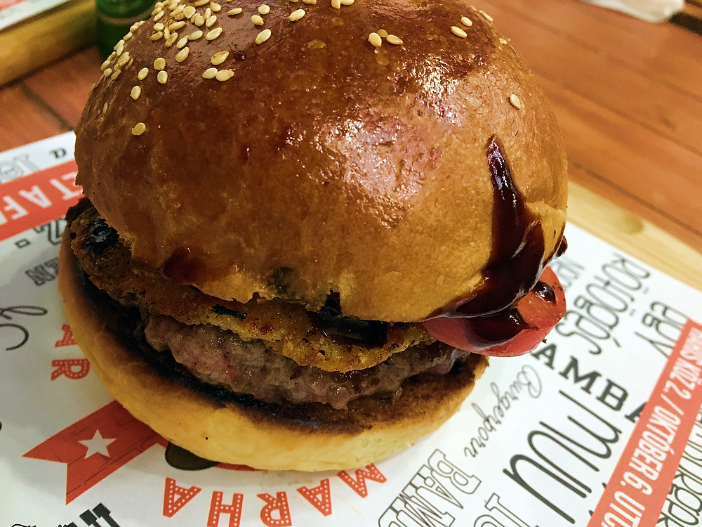 Where to find the best burgers in Budapest, Hungary? Bamba Marha Burger Bar