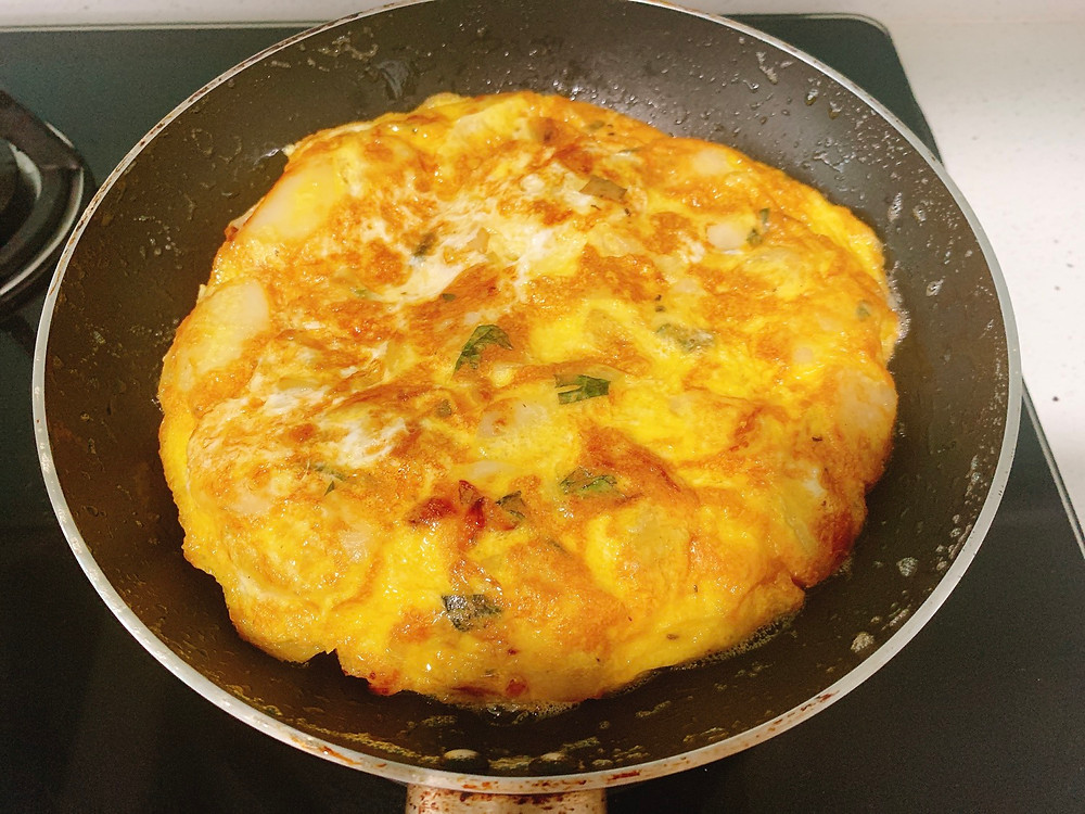 Cook at home: Spanish Omelette (Spanish Tortilla) Recipe