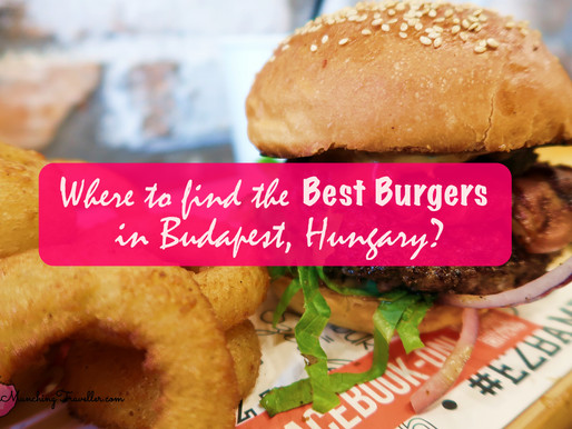 Where to find the best burgers in Budapest, Hungary?