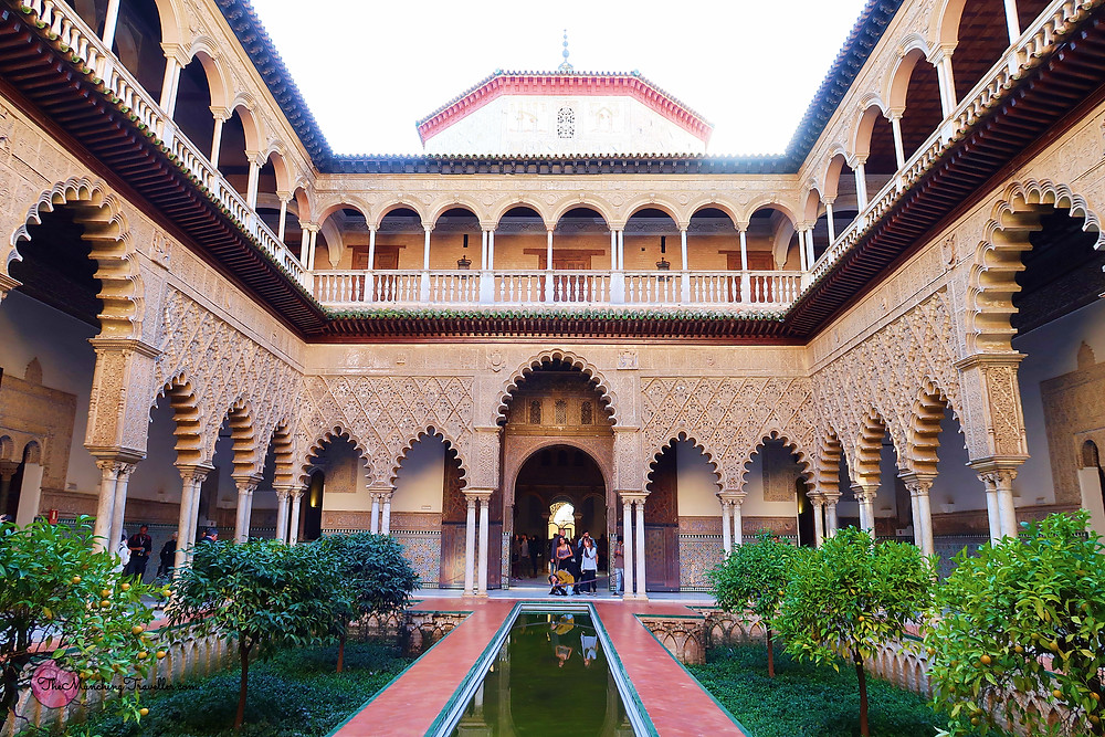 The Real Alcazar of Seville, Spain