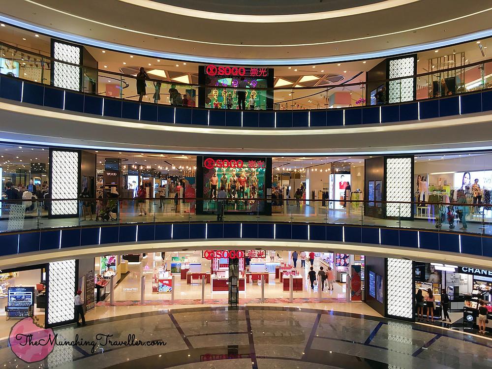 Exploring The Mall, Midvalley Southkey in Johor Bahru, Malaysia, SOGO