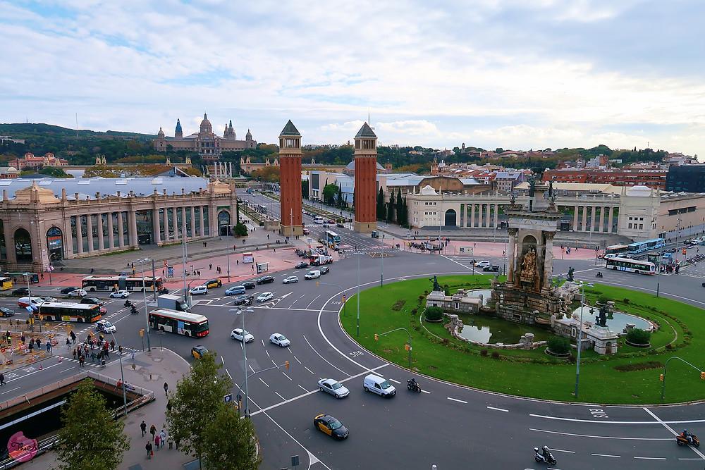 Placa de Espanya, Barcelona, Spain