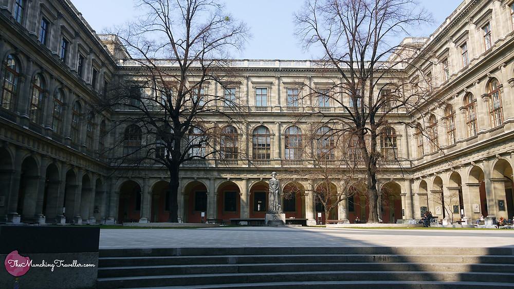 University of Vienna Inner Courtyard, Austria