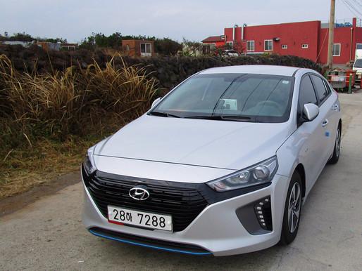Renting a car to drive in Jeju Island, South Korea