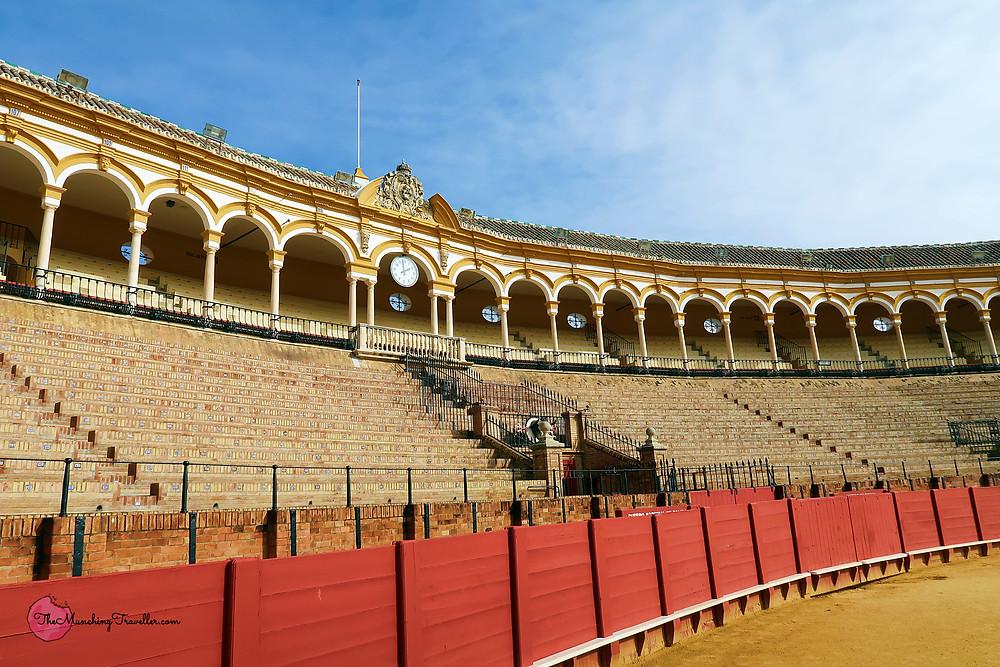 Plaza de toros de la Real Maestranza, Seville, Spain