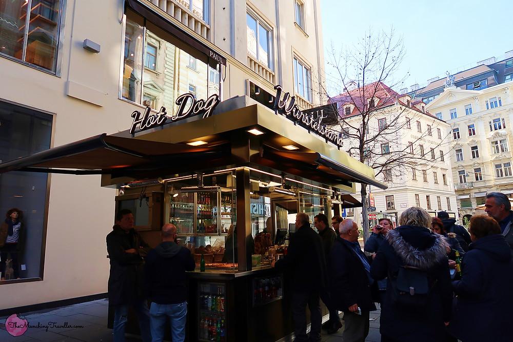 Wurstelstand, Vienna, Austria