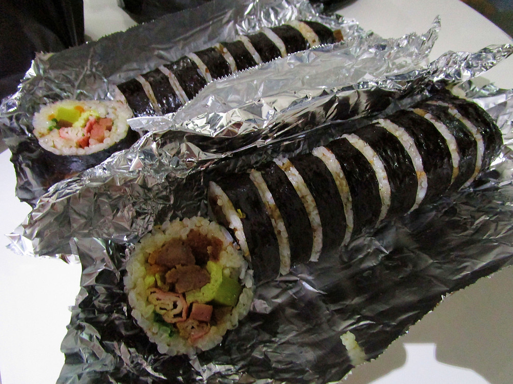 Gimbap in Jeju