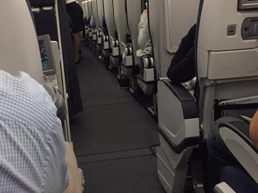 Economy Class on British Airways (Singapore to London)