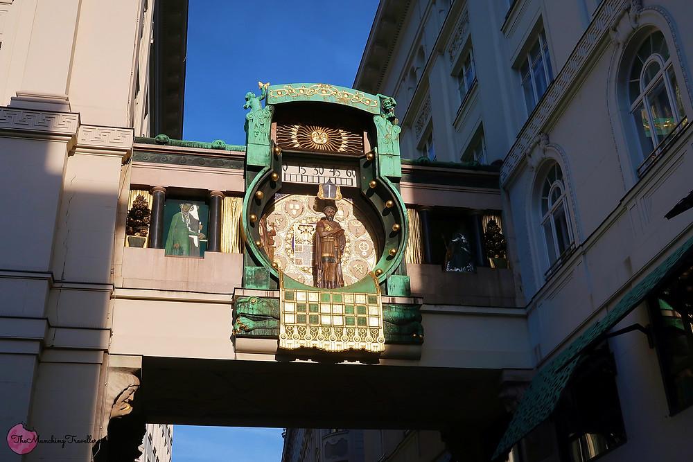 Anchorclock, Vienna, Austria