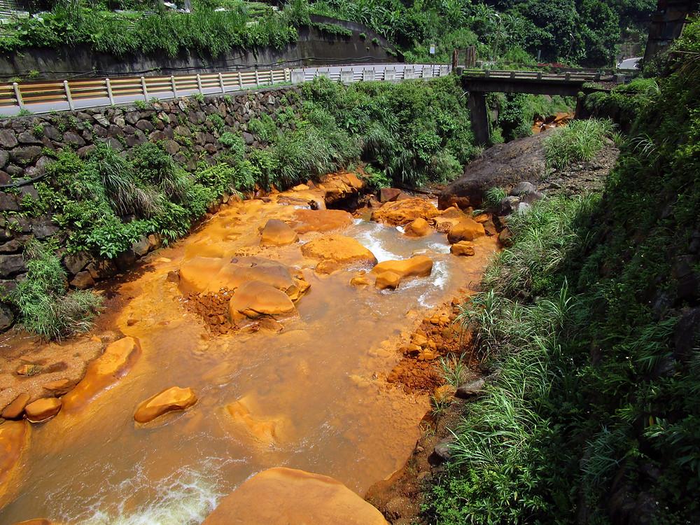 Golden Waterfall, Taipei Taiwan