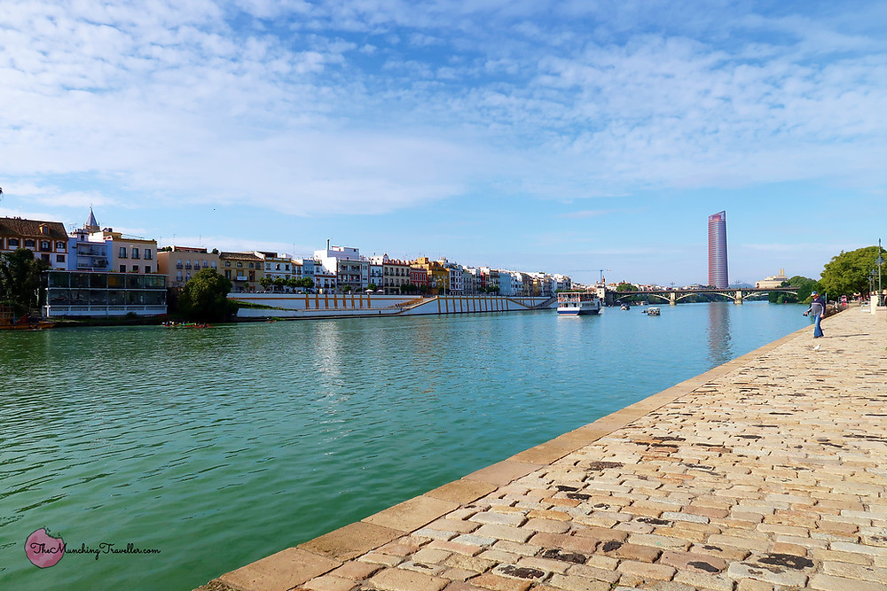 Guadalquivir River, Seville, Spain