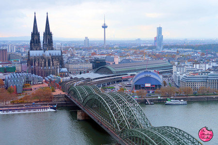 View on top of the Koln Triangle