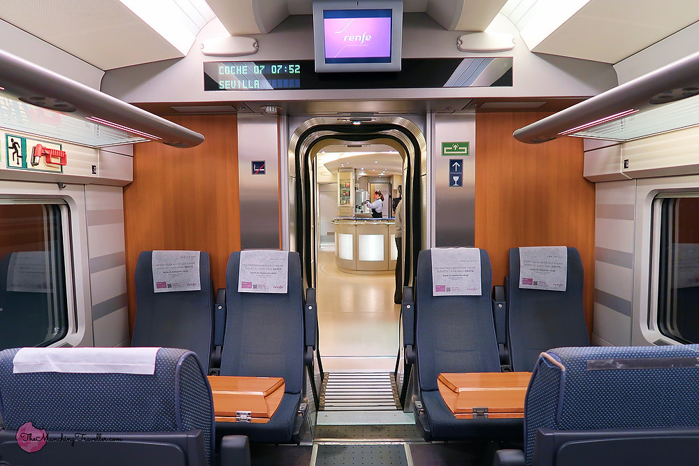 Renfe trains in Spain