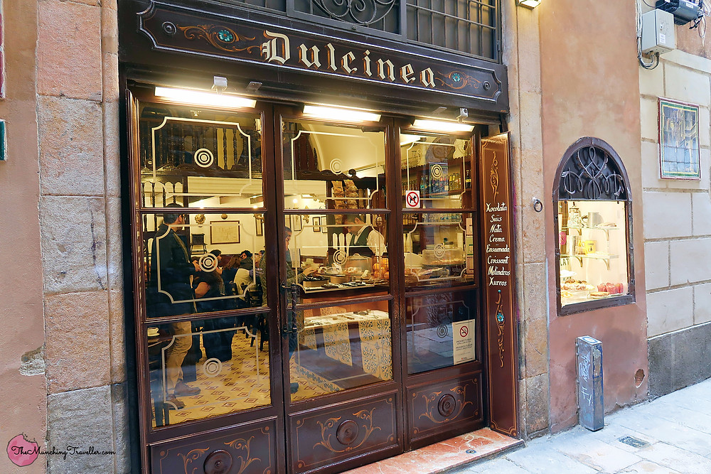 Where to have Churros in Barcelona? Dulcinea