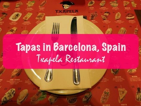 Tapas Restaurant in Barcelona: Txapela