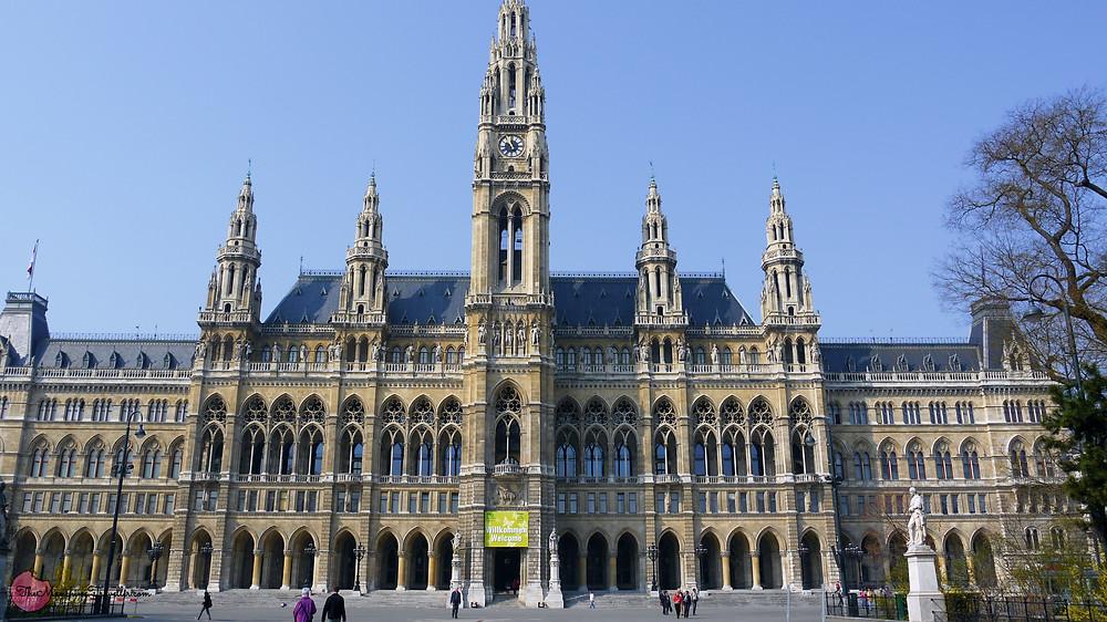 Vienna City Hall, the Wiener Rathaus, Austria