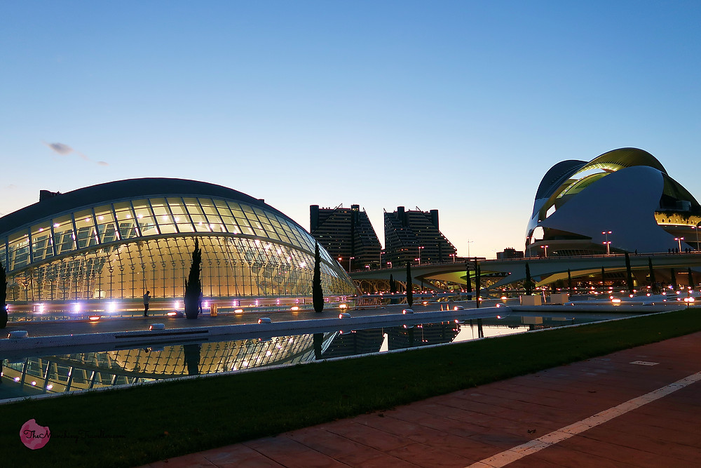 Umbracle, City of Arts and Sciences, Valencia, Spain