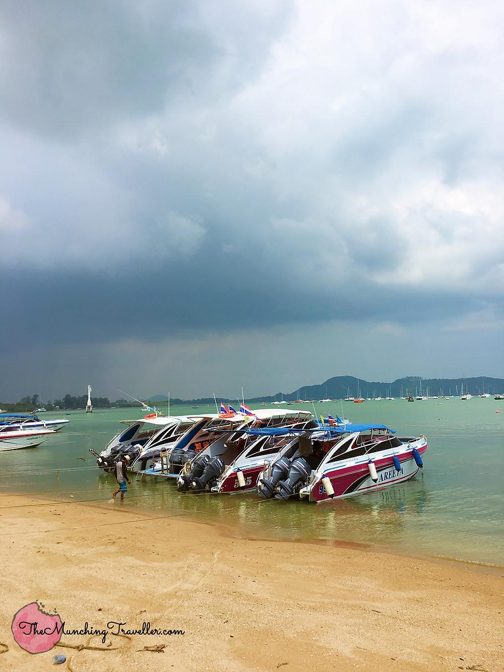 Patok Beach, Raya Islands, Racha Islands, Phuket, Thailand