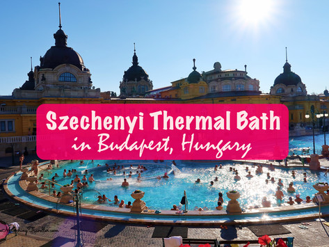 Szechenyi Thermal Bath in Budapest, Hungary