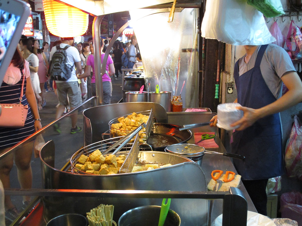 Stinky Tofu, Shi Lin Night Market, Taipei, Taiwan