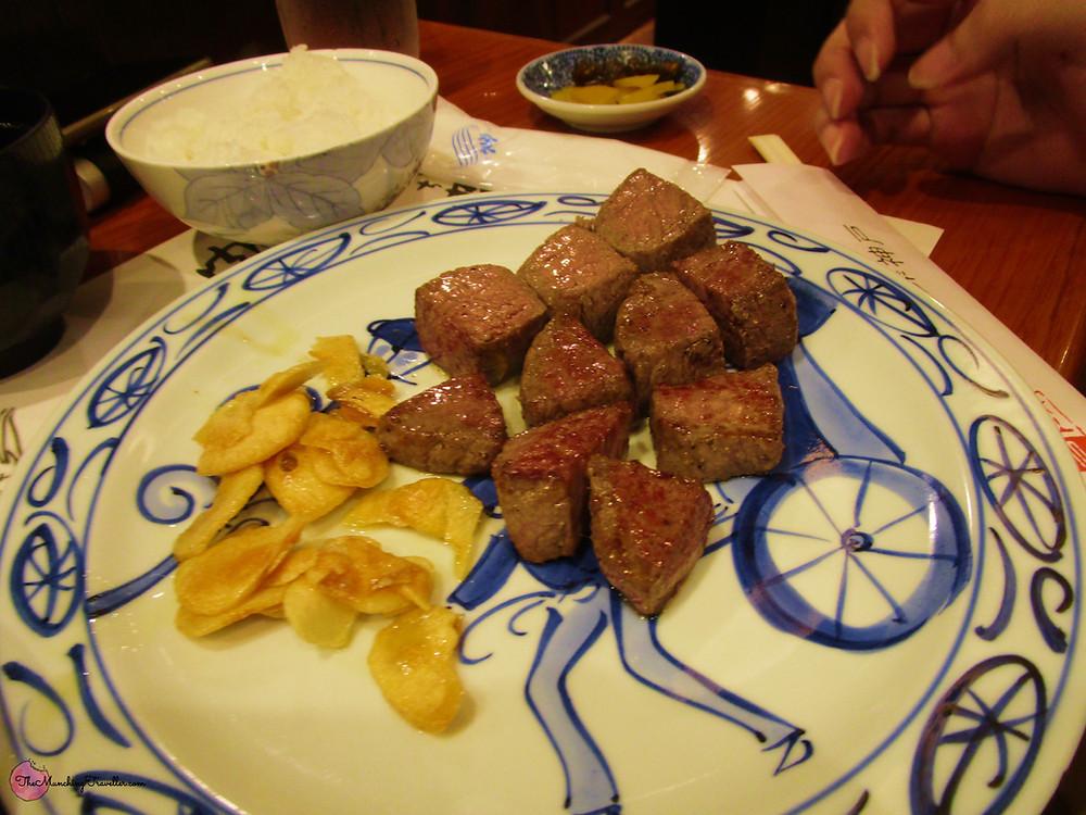 Kobe Beef in Kobe, Japan
