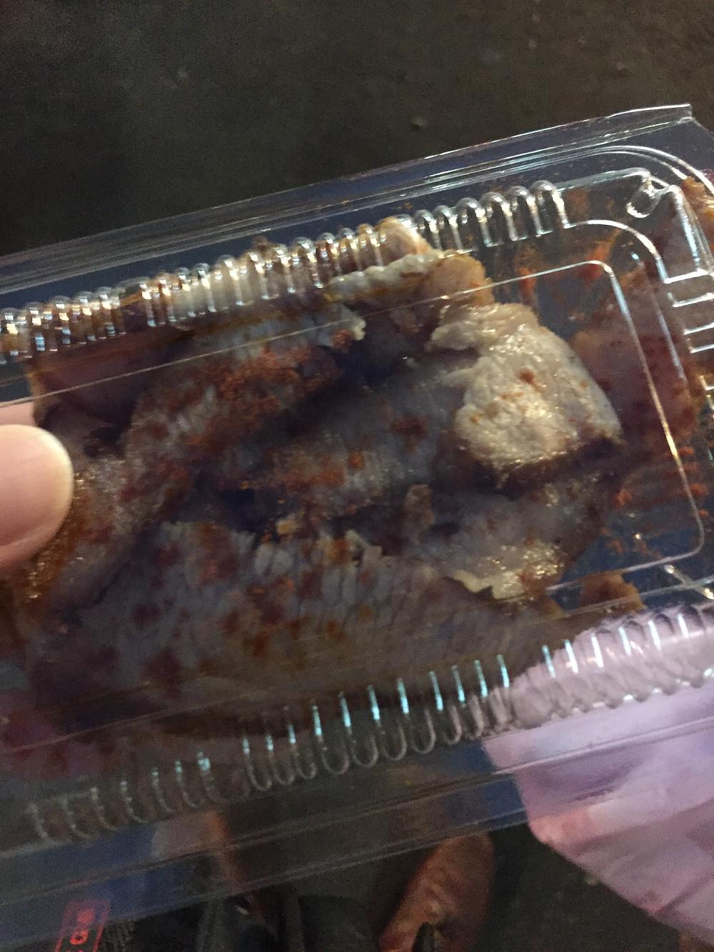 Grilled Pork Neck, RaoHe Night Market, Taipei, TAiwan