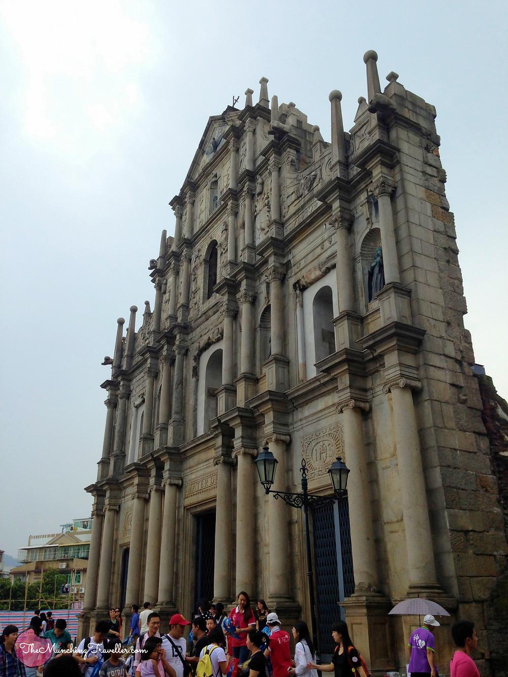 Ruins of St Paul's, Macau, Hong Kong