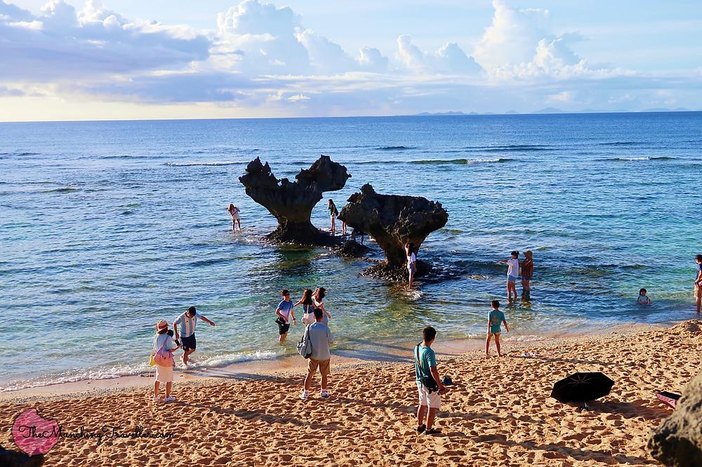 Heart Rocks, Kouri Island, Okinawa, Japan